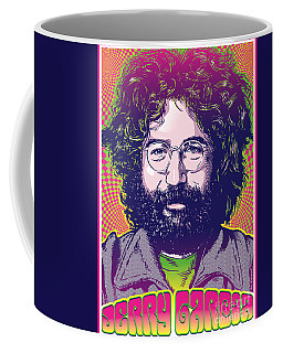 Jerry Garcia Pop Art Coffee Mug