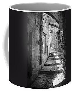 Jerusalem Street Coffee Mug by Alexey Stiop