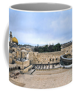 Jerusalem The Western Wall Coffee Mug