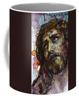 Coffee Mug featuring the painting Jesus Christ by Laur Iduc