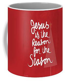 Jesus Is The Reason For The Season- Greeting Card Coffee Mug