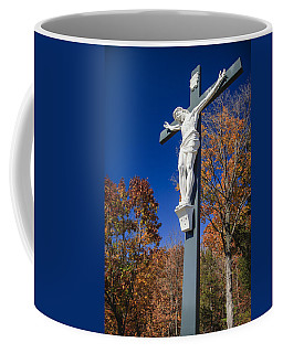 Jesus On The Cross Coffee Mug