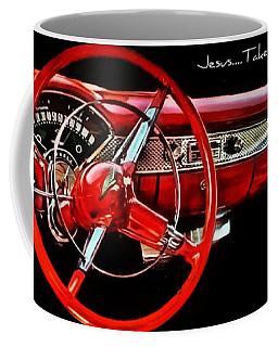 Jesus Take The Wheel Coffee Mug