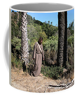 Jesus- Walk With Me Coffee Mug
