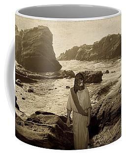 Jesus Walks Among Angels Coffee Mug