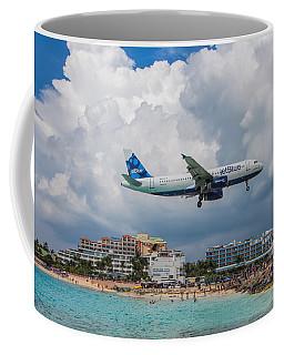 jetBlue in St. Maarten Coffee Mug