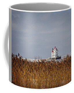jewel of the Port Lorain Lighthouse Coffee Mug