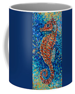 Jeweled Seahorse Coffee Mug