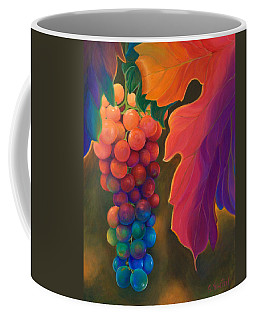 Coffee Mug featuring the painting Jewels Of The Vine by Sandi Whetzel