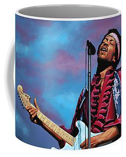 Jimi Hendrix 2 Coffee Mug