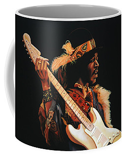 Jimi Hendrix 3 Coffee Mug