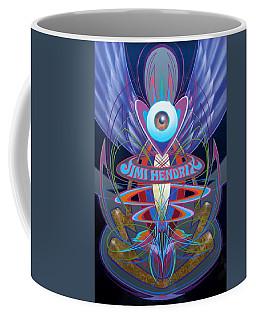 Jimi Hendrix Memorial Coffee Mug