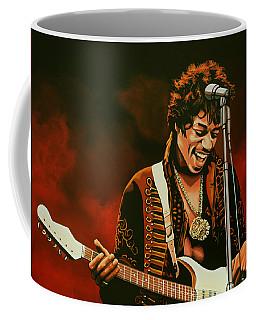 Jimi Hendrix Painting Coffee Mug