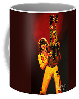 Jimmy Page Painting Coffee Mug