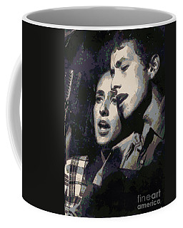 Joan Baez And Bob Dylan Coffee Mug