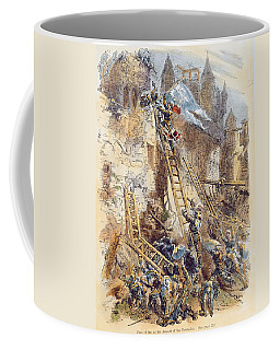 Joan Of Arc At The Assault Of The Tournelles Colour Litho Coffee Mug
