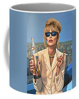 Joanna Lumley As Patsy Stone Coffee Mug