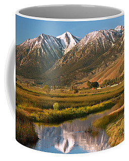 Job's Peak Reflections Coffee Mug by James Eddy