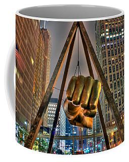 Joe Louis Fist Detroit Mi Coffee Mug