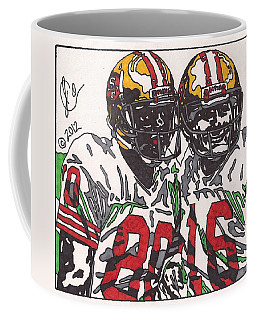 Joe Montana And Jerry Rice Coffee Mug