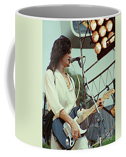 Joe Perry Of Aerosmith At 1979 Monsters Of Rock In Oakland Ca Coffee Mug