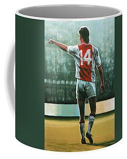 Johan Cruijff Nr 14 Painting Coffee Mug