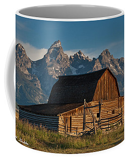 Coffee Mug featuring the photograph John And Bartha Moulton Barn by Jeff Goulden