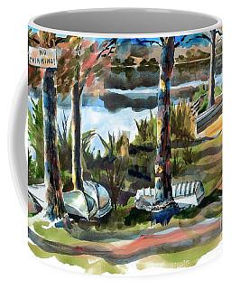John Boats And Row Boats Coffee Mug