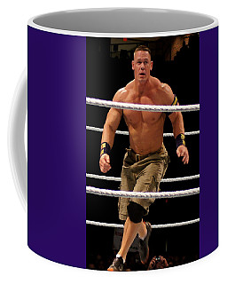 John Cena In Action Coffee Mug