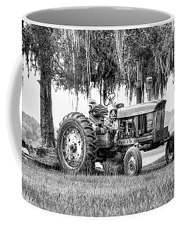 John Deer Tractor Under The Old Cedar Coffee Mug