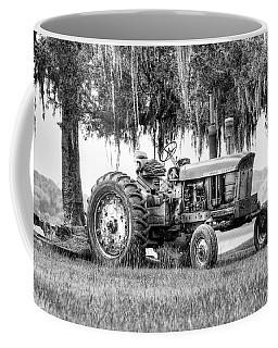 John Deer Tractor Under The Old Cedar Coffee Mug