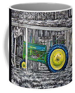 John Deere Green Coffee Mug
