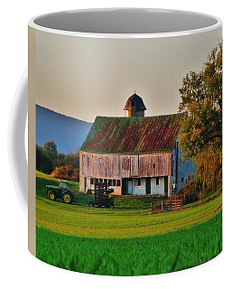John Deere Green Coffee Mug by Robert Geary