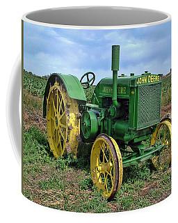 John Deere Tractor Hdr Coffee Mug
