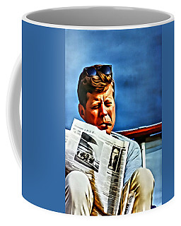 John F Kennedy Coffee Mug
