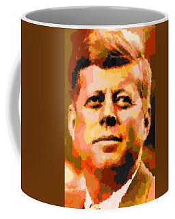 John Fitzgerald Kennedy - Abstract Coffee Mug