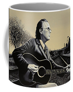 John Hiatt Painting Coffee Mug