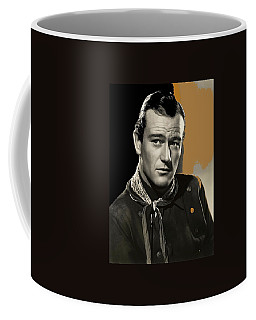 John Wayne  Publicity Photo In Costume Stagecoach 1939-2009 Coffee Mug