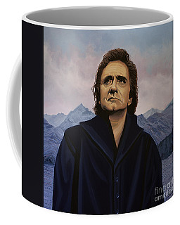 Johnny Cash Painting Coffee Mug
