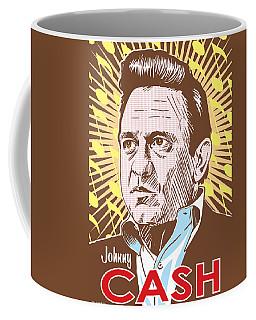 Johnny Cash Pop Art Coffee Mug