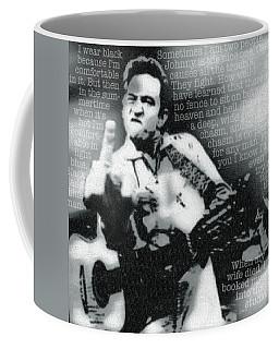 Johnny Cash Rebel Coffee Mug