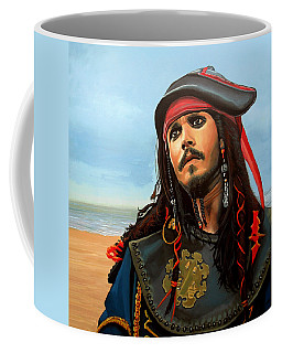 Johnny Depp As Jack Sparrow Coffee Mug