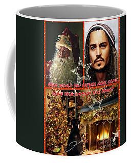 Johnny Depp Xmas Greeting Coffee Mug
