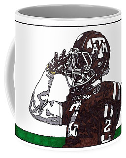 Johnny Manziel The Salute Coffee Mug