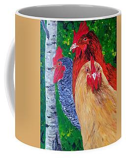John's Chickens Coffee Mug