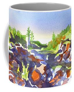 Coffee Mug featuring the painting Johnsons Shut Ins by Kip DeVore