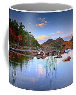 Jordan Pond In Fall Coffee Mug