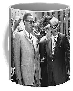 Joseph Mobutu And Sarnoff Coffee Mug