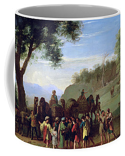 Joseph Sold By His Brothers Oil On Canvas Coffee Mug