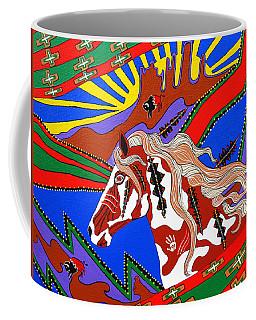 Journeys Past Coffee Mug by Debbie Chamberlin